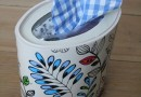 "Make a ""tissue"" box to keep little hands busy"