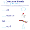 Blends, Digraphs and Diphthongs Printables Roundup