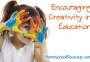 Encouraging Creativity in Education